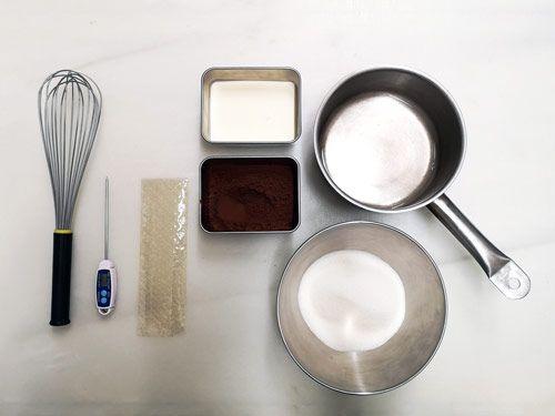 Receta de Glaseado espejo de chocolate
