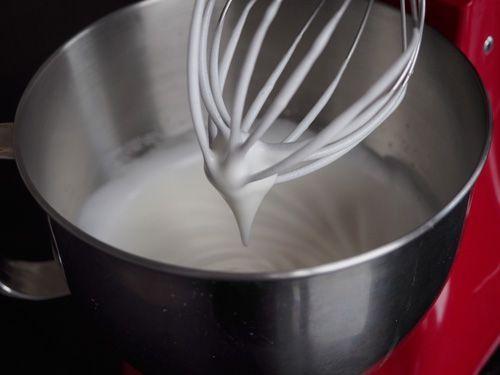 hacer merengue con kitchenaid