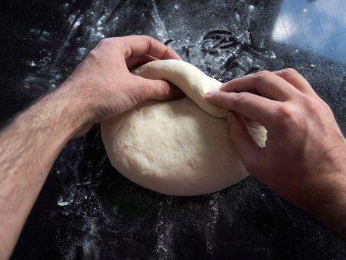 Receta de Pan casero sin utensilios