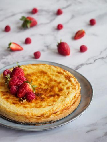 Receta de Tarta de queso Camembert