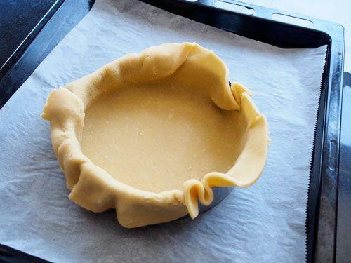 forrar un aro de tarta