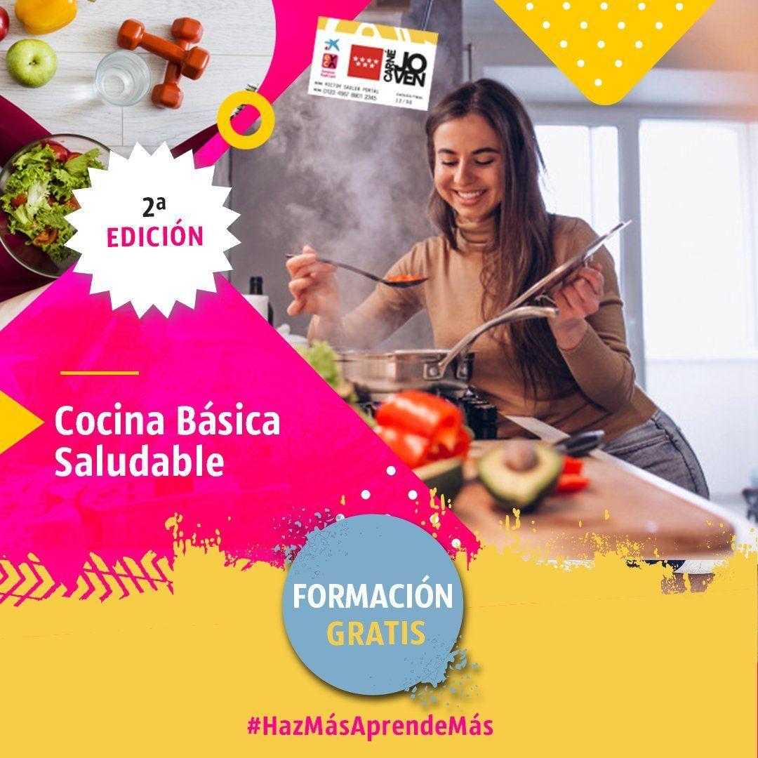 Curso de cocina saludable en Madrid