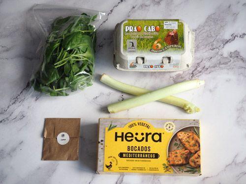 Ingredientes a domicilio de Foodinthebox